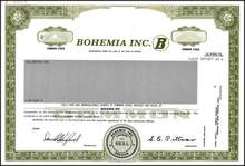 Bohemia Inc. Lumber Company - Oregon ( Now Willamette Industries, Inc. )
