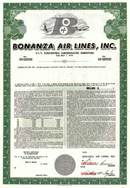 Bonanza Air Lines, Inc. RARE - Las Vegas, Nevada
