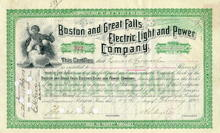 Boston Electric Light and Power circa 1894