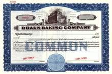 Braun Baking Company - Pennsylvania