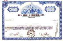 Bread Basket International Corp.