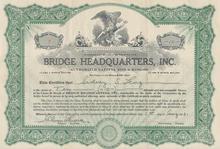 Bridge Headquarters, Inc.