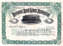 Bristol Belt Line Railway 1890's - Bristol, Virginia