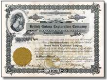 British Guiana Exploration Company 1909 - Arizona Territory
