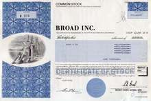Broad Inc. (Sun America Life Insurance ) 1992