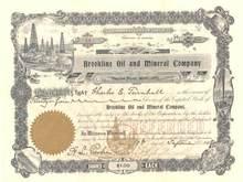 Brookline Oil and Mineral Company 1908 - Terrotory of Arizona