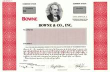 Bowne & Co., Inc. ( IPO Document Printer )