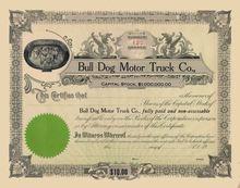 Bull Dog Motor Truck Company