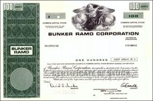 Bunker Ramo Corporation