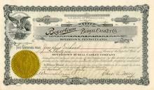Burial Casket Company 1917 - Boyertown