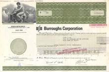 Burroughs Computer Corporation ( Now Unisys )