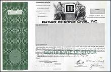 Butler International, Inc.