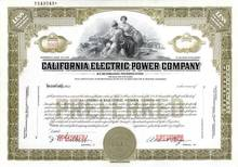California Electric Power Company ( Now Southern California Edison )