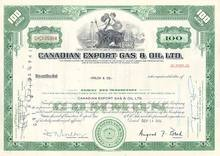 Canadian Export Gas and Oil Co Stock