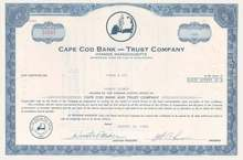 Cape Cod Bank and Trust Company - Hyannis, Massachusettes