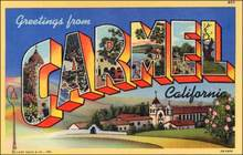 Carmel California Postcard