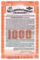 Carolina Company 1922 Gold bond - Rhode Island ( Carolina Mills )