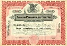Cardinal Petroleum Corporation 1920's