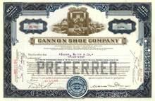 Cannon Shoe Company - Maryland 1943