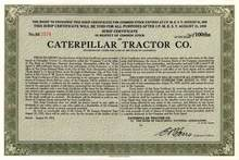 Caterpillar Tractor Company 1953