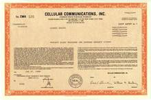 Cellular Communications Incorporated CCI 1988 - Air Touch