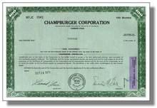 Muhammad Ali Stock Certificate