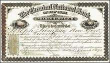 Chemical National Bank of New York 1871