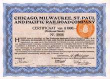 Chicago, Milwaukee, St. Paul and Pacific Railroad Company