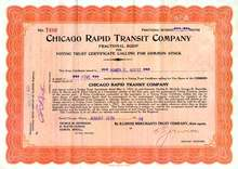 Chicago Rapid Transit Company 1924 - 1931
