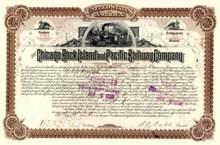 Chicago, Rock Island and Pacific Railway Company 1887