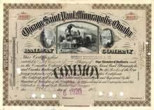 Chicago, Saint Paul, Minneapolis and Omaha Railway Company 1920