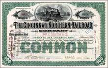 Cincinnati Northern Railroad Company 1902