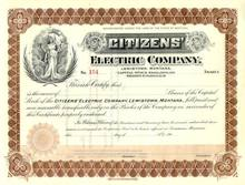 Citizens' Electrical Company