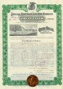 City of Great Falls Bond - Water Fall Vignette - 1917