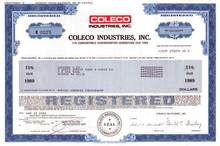 Coleco Industries, Inc. ( Inventors of ColecoVision and Cabbage Patch doll's)