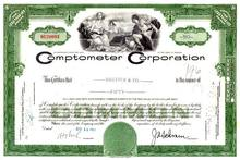 Comptometer Corporation 1961 - ( Victor Adding Machine Company)
