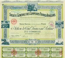 Comptoirs French African Bond 1925