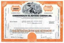 Commonwealth Oil Refining Company - Puerto Rico