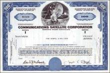 Communications Satellite Corporation 1960's (COMSAT)