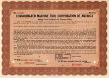 Consolidated Machine Tool Corporation of America