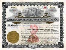 Consolidated Midway Chief Oil Co. 1912