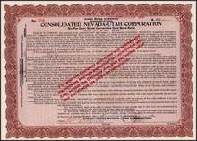 Consolidated Nevada - Utah Corporation 1913 - Gold Bond Scrip