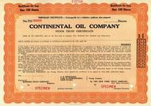 Continental Oil Company ( Early Conoco )