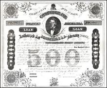 Confederate States of America Loan 1863