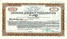 Crusader Aircraft Corporation 1937