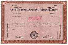 Cypress Broadcasting Corporation