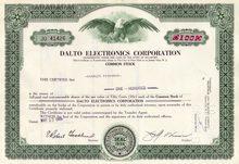Dalto Electronics Company