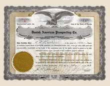 Danish American Prospecting Co. 1938 - Florida