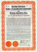 David Grimes Radio and Cameo Record Corporation - Gold Bond 1926