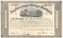 Deep River Copper Mining & Smelting Co. 1853 - North Carolina